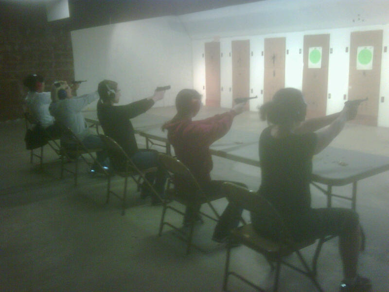 Women's Basic Pistol course in Lincoln, CA