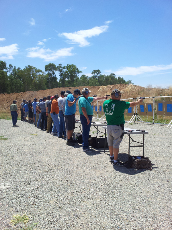Best Handgun Training - our PRIVATE outdoor range in Lincoln, CA